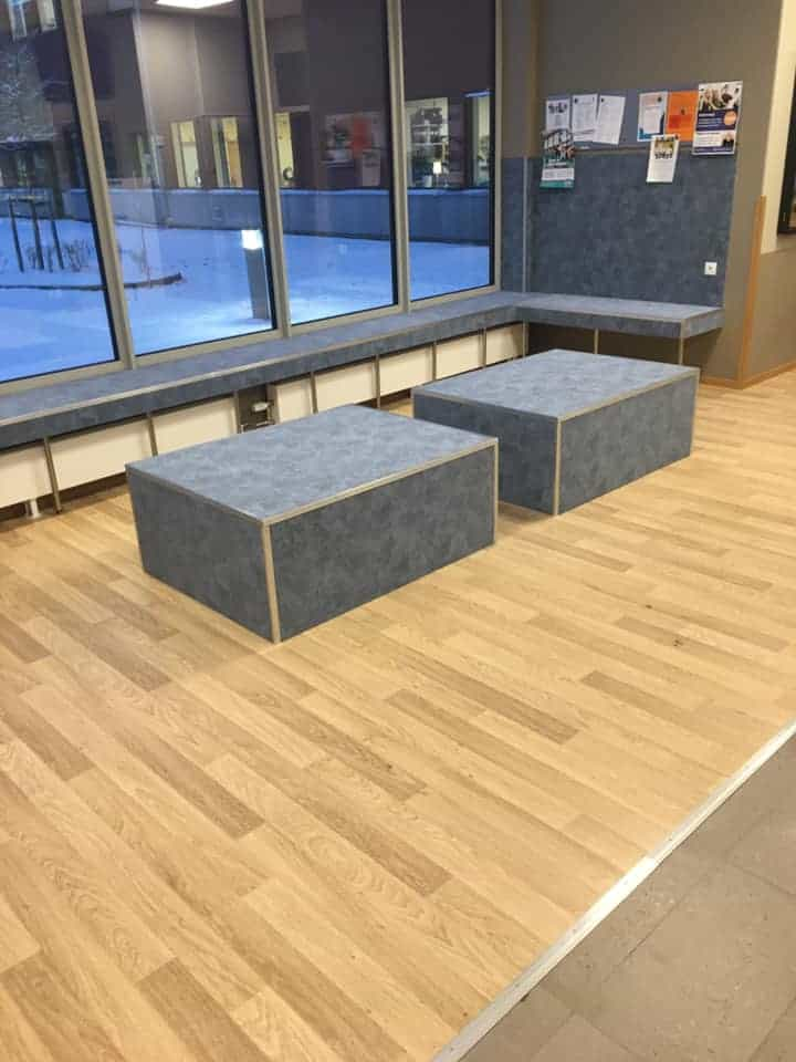 Sittplatser – Prolympia, skola i Gävle